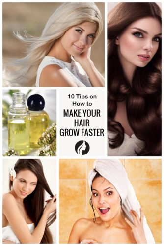 10 Tips on How to Make Your Hair Grow Faster