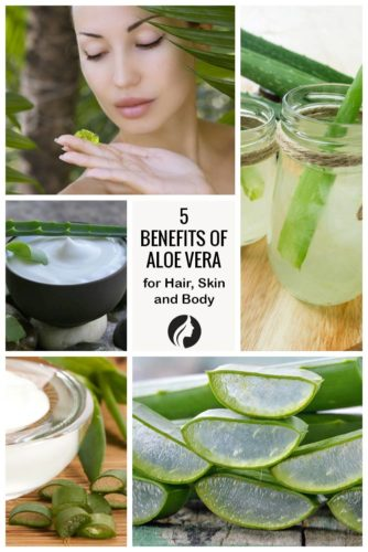 5 Benefits of Aloe Vera For Hair, Skin and Body