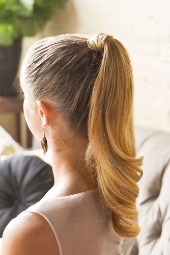 Use Bobby Pins to Prop Up Your Ponytail