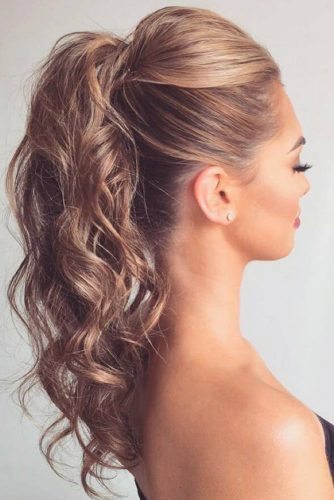 Make Your Ponytail Look Longer