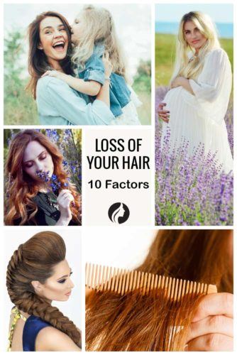 10 Factors Contributing to the Loss of Your Hair