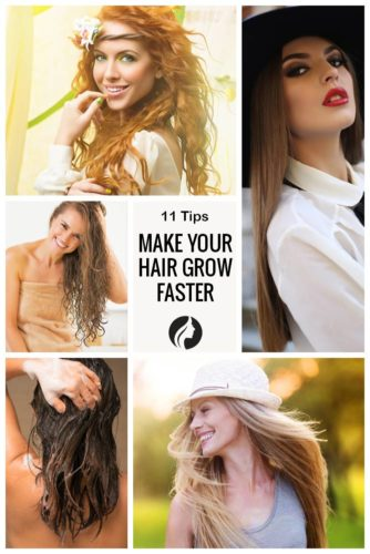 11 Tips on How to Make Your Hair Grow Faster