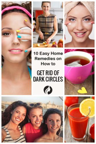 10 Home Remedies on How to Get Rid of Dark Circles