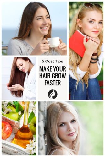 5 Simple Tips on How to Make Your Hair Grow Faster