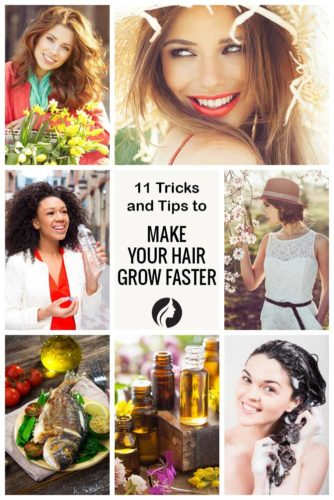 11 Tricks and Tips to Make Your Hair Grow Faster