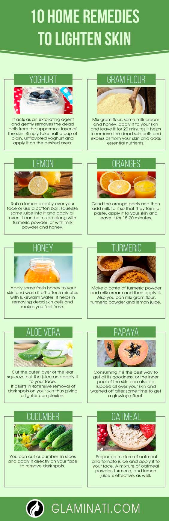How to Lighten Skin at Home Using Only Natural Products