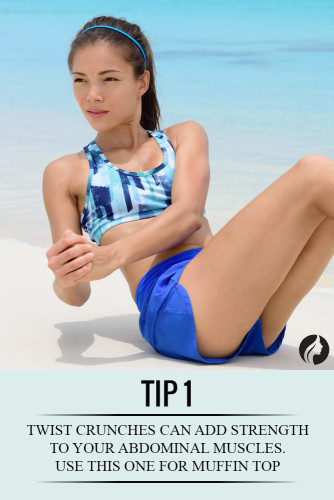how to lose muffin top fast exercises