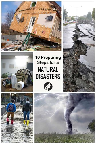 10 Steps How to Prepare for a Natural Disasters