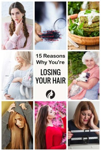 15 Reasons Why You're Losing Your Hair