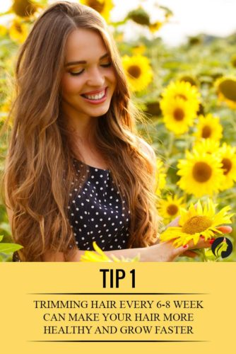 9 Tips on How to Make Your Hair Grow Faster