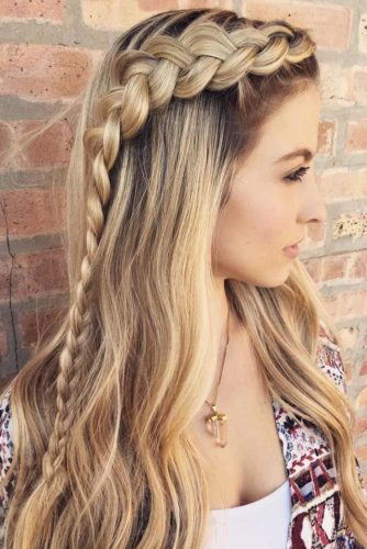 Romantic Half Up Half Down Hairstyles picture 4