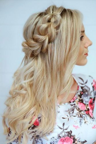 Romantic Half Up Half Down Hairstyles picture 6