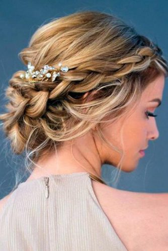 Braided Graduation Updo Hairstyles picture 1