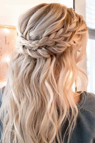 Cute Braided Crown Hairstyles picture 2