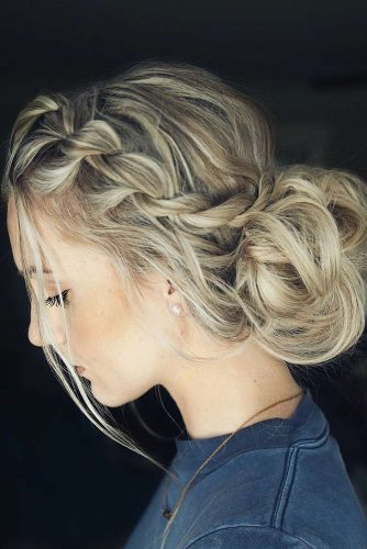 Braided Graduation Updo Hairstyles picture 5