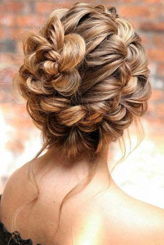 Braided Updo Hairstyle #updohairstyle #braidedhair
