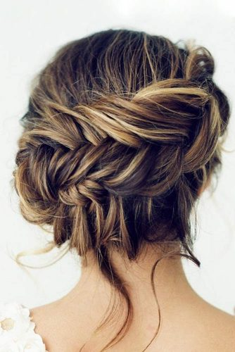 Braided Graduation Updo Hairstyles picture 4