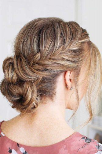 Braided Graduation Updo Hairstyles picture 3