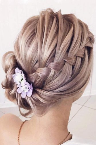 Braided Graduation Updo Hairstyles picture 6