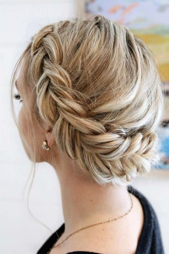 Cute Braided Crown Hairstyles picture 1