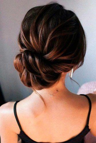 Elegand Low Bun #bunhairstyle #formalhair