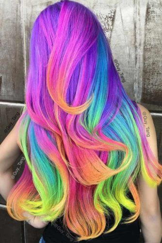 33 Colorful Ombre Hair Ideas to Inspire You This Summer