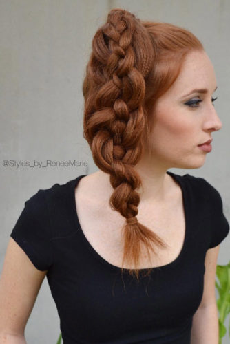Romantic Braided Hairstyles for Long Hair picture 1