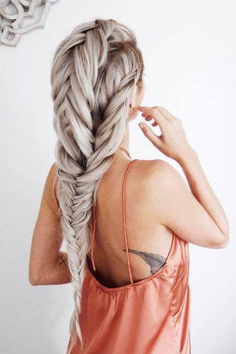 Romantic Braided Hairstyles for Long Hair picture 4