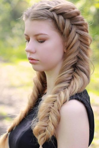 Romantic Braided Hairstyles for Long Hair picture 5