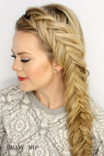 Romantic Braided Hairstyles for Long Hair picture 6