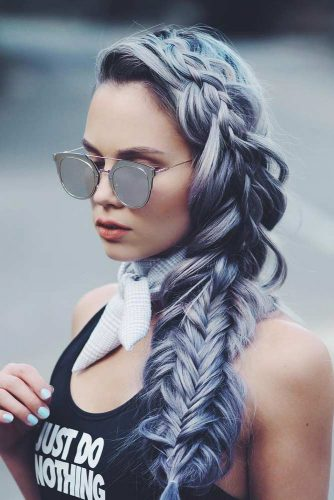Pretty Braided Hairstyles for Prom picture 1