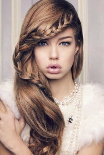 Pretty Braided Hairstyles for Prom picture 2