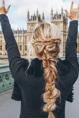 Pretty Braided Hairstyles for Prom picture 4