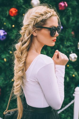 Pretty Braided Hairstyles for Prom picture 6