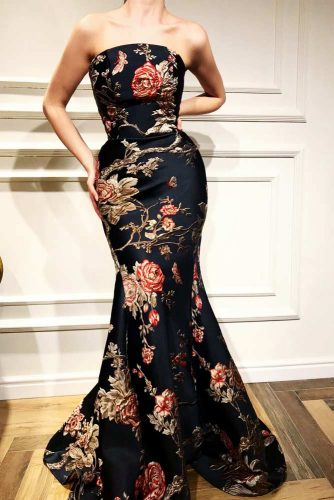 Long Mermaid Off-Shoulder Design Prom Dress