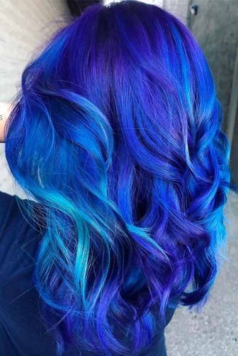 Most Popular Ideas of Blue Ombre Hair picture 1