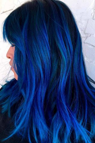 Most Popular Ideas of Blue Ombre Hair picture 3