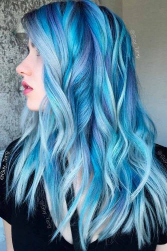 Most Popular Ideas of Blue Ombre Hair picture 5