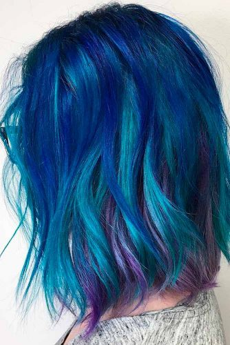Fabulous Purple and Sky Blue Ombre picture 6
