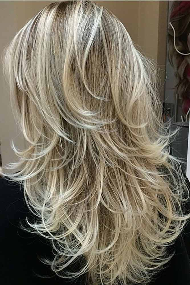 Multilayered Blonde Haircut #prettystyle #hairbabylights