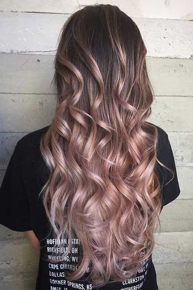 Dusty Pink Hair Color #pink Haircolor #dustypinkhair