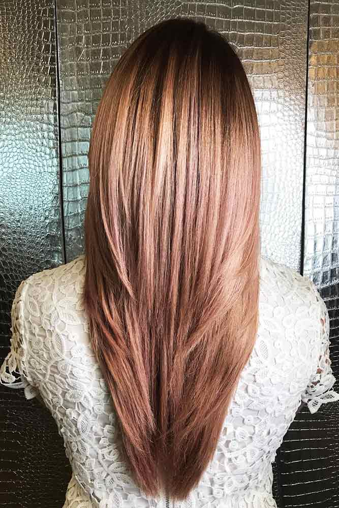 Long Layered Haircut For Straight Hair #straighthir #longhairstyles