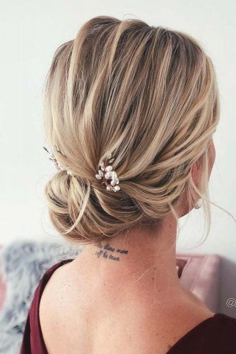 Easy Updo Hairstyle For Prom Day #easyhair #updo