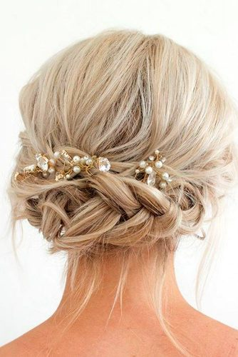 Gorgeous Braided Prom Hairstyles For Short Hair picture 1