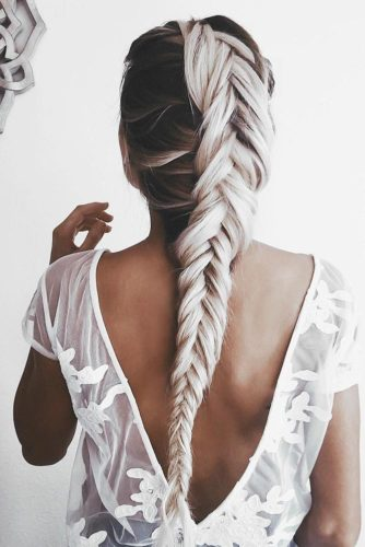 Blonde Ombre & Ash Ombre With Curly and Braid Ideas picture 2