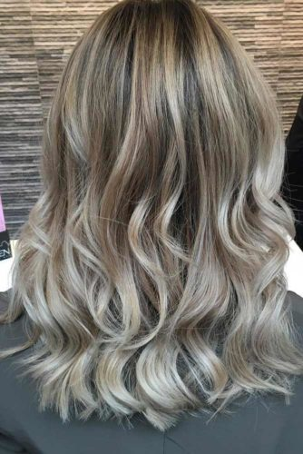 Blonde Ombre & Ash Ombre With Curly and Braid Ideas picture 3
