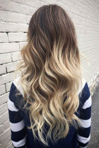 Blonde Ombre on Medium and Long Hair picture 2