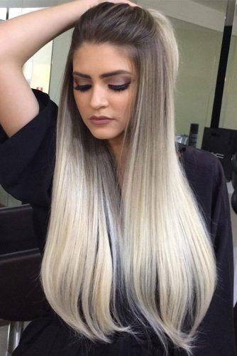 Blonde Ombre on Medium and Long Hair picture 1