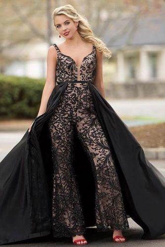 Black Lace Playsuit #tulleskirt