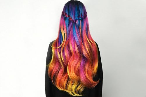 Colorful Ombre Hair Ideas to Inspire You This Summer